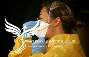 janitorial staff frontline workers phoenix service llc Virginia